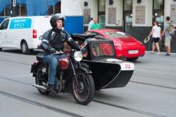 BSA A7 Sidecar