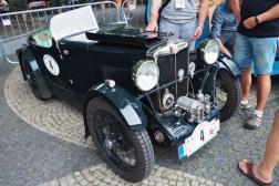MG Midget Roadster