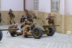 Boje v meste 1945