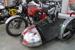 Rudge Whitworth Ulster sidecar
