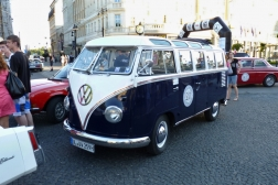 VW T1 Samba Luxus-Bus