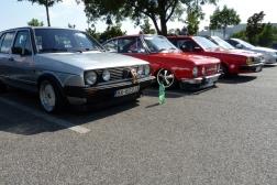 VW Golf, Škoda 110R, VW Passat