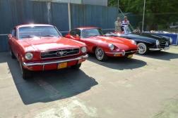 Ford, Jaguar, Mercedes-Benz