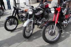 Čezeta, Norton, Jawa